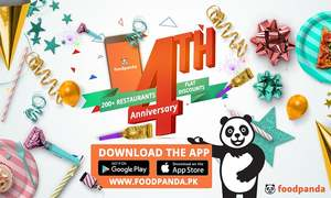 Foodpanda celebrates its 4th anniversary