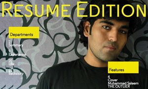 Curious about the Pakistani with the 25-page resume? Here's his story