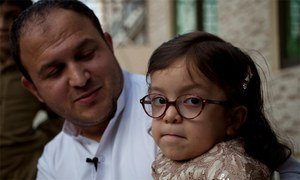 6 سالہ بیمار پاکستانی بچی امریکی ویزے کی منتظر