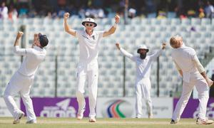 Stokes strikes twice to foil Bangladesh fairytale win