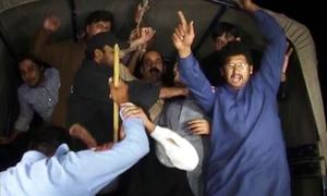 Politicians react after police storm PTI youth convention
