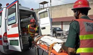موٹر وے پر 12 گاڑیوں کی ٹکر، 13 افراد ہلاک