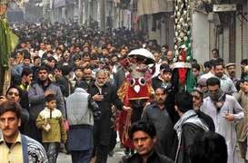 Chehlum processions end peacefully amid tight security
