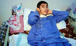 Paralysed teen was 'tortured', medical exam reveals