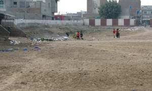 Sports stadium incomplete after 35 years