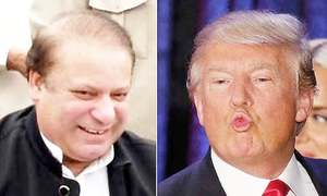 An 'I love you' and a phone call: Breaking down the Nawaz-Trump 'bromance'