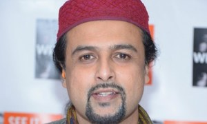 Salman Ahmad invited by Academy Award winning singer to perform in the US