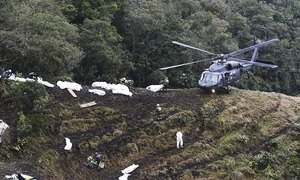 Bolivia suspends airline as Colombian crash probe points to lack of fuel
