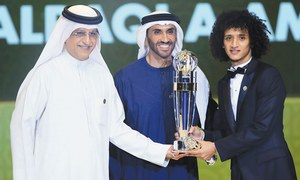 Emirati midfielder Abdulrahman voted Asian player of 2016