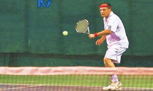 Fawad stuns top-seeded Indian in ITF Seniors tennis