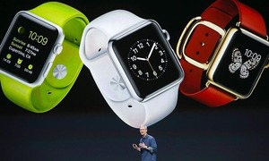 Apple Watch sales to consumers set record in holiday week, says Apple's Cook