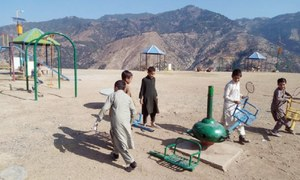 Upper Dir's only public park cries for facilities