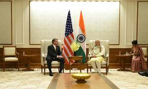 India, US destined to be strategic partners in future: US defence secretary
