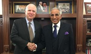 McCain expresses desire to strengthen Pak-US bilateral ties