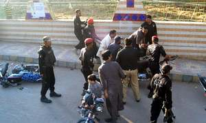 Law enforcers detain MQM London activists after tensions simmer in Azizabad, Hyderabad