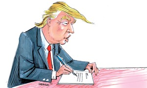 Satire: Diary of Donald Trump