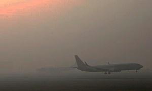 45 flights disrupted as fog descends on Punjab, Sindh