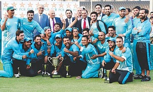 Shehzad inspires HBL to one-day title after Malik stars