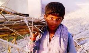 رنگ برنگی کرسیاں بنانے والے بچوں کی بے رنگ زندگی