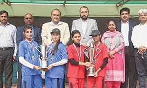 Karachi Queens clinch  SSB Quaid-e-Azam Day Softball title
