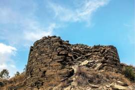 Another ancient castle discovered in Swat