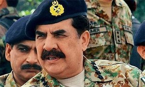 Gen Sharif to speak on terrorism at Davos meeting