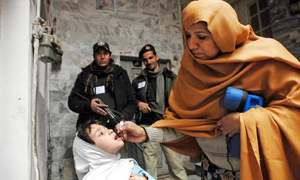 Fata will be polio-free by March  this year, says governor