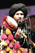 A soulful performance of Sufi music