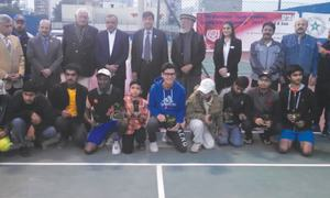 Raza clinches Westbury Open title