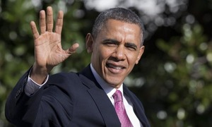 Obama makes farewell calls to Afghan, Indian leaders