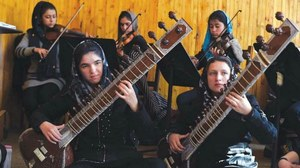 Afghanistan's first all-girl orchestra ready to perform