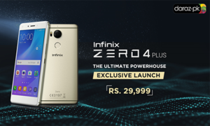 Infinix releases new flagship Zero4 Plus, the ultimate powerhouse, on Daraz.pk