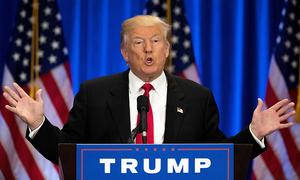 متنازع معاملات پر ڈونلڈ ٹرمپ کے خطرناک مؤقف