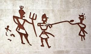 سوات میں پتھروں پر نقش تین ہزار سال پرانی پینٹنگز