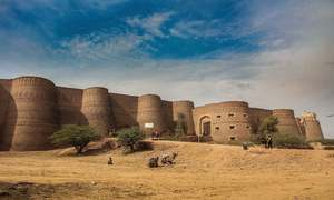 Derawar Fort: a 9th century human marvel on the verge of collapse