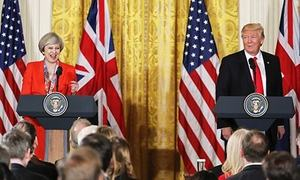 How pitiful Theresa May should have reacted to Trump's ban