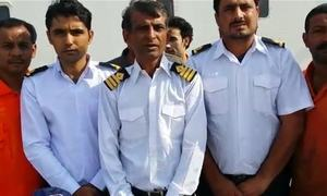 9 more Pakistani sailors stranded on ship in Egypt return home