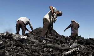 Official says missing coal dumped 'accidentally'