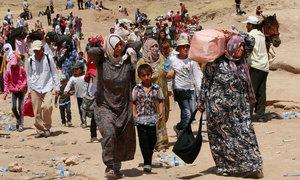 Saylani Welfare Trust serves Syrian refugees at Turkish border