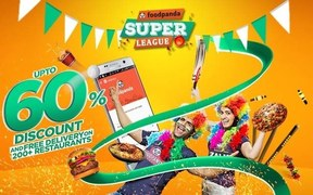 Foodpanda offers up to 60% off for FPSL