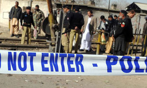 Four policemen among five killed in Dera Ismail Khan