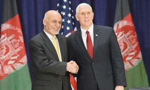 US to continue partnership with Afghanistan, says Pence