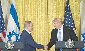 Laughter is the only response to Trump's woeful knowledge of West Bank