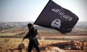 Report says IS 'business model' near collapse