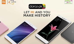 Xiaomi launches smartphones in Pakistan on Daraz.pk