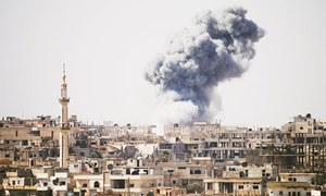 Russia asks Syria to halt bombing during peace negotiations