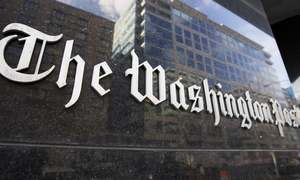 'Democracy Dies in Darkness' is Washington Post's new motto
