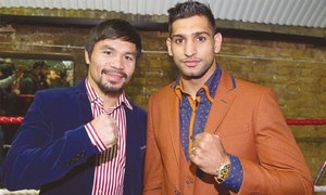 Pacquiao in negotiation with Amir Khan for next fight