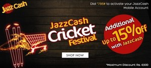 JazzCash Cricket Festival launched on Daraz.pk