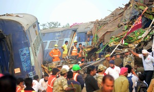 Modi hints at Pakistan's hand in Uttar Pradesh deadly rail crash